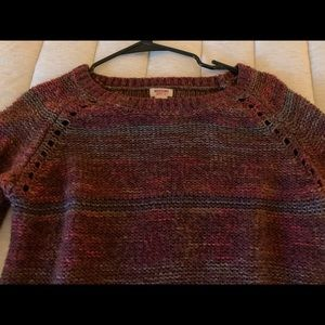 Mossimo Supply Co. Sweaters - Long sleeve maroon sweater